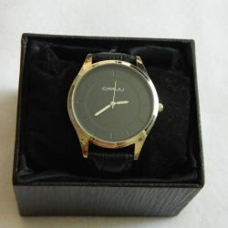 Stylish men's watch, delivery
