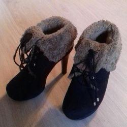 Χειμερινές μπότες αστράγαλο