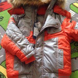 New winter jacket 98-104 size