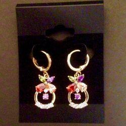 Multi-color earrings
