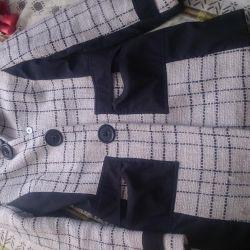 Элегантное пальто 44-46 размера