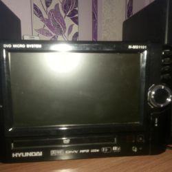 Hyundai dvd mikrosistemi