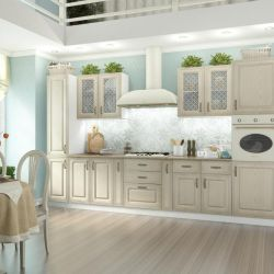 modüler klasik isabel mutfak