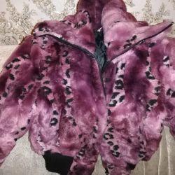 Jacket for teenage girl demi-season