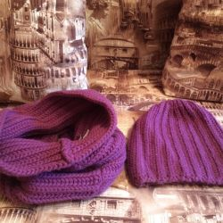 Hat and Scarf (Hamut) Concept Acrylic