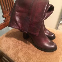 Boots Italy, nat. leather, p.38, exchange / add.