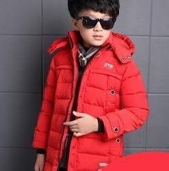ABC boy's jacket red size 110