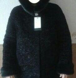 New karakul fur coat
