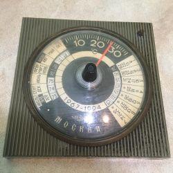 SSCB termometre Moskova