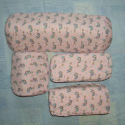 Transform pillows, sleep positioner