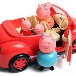 Машина для пикника Свинки Пеппы (новая)