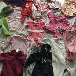 Вещи на девочку от рождения и до 4 лет
