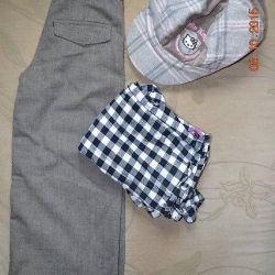 Pantaloni de moda pentru dandies mici Lanson Kids.