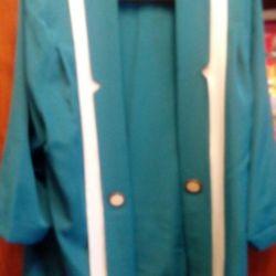 Turquoise Costume