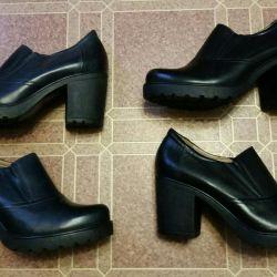 Новые осенние туфли 2 пары, 40 р-р