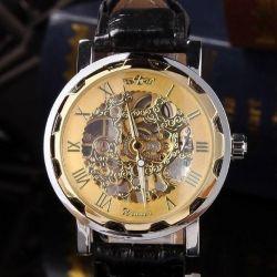New, in unitary enterprise, mechanical watch Skeletons Winner