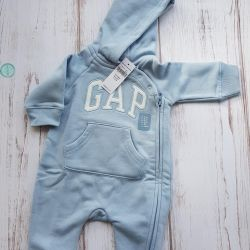 Gap overalls summer cotton set
