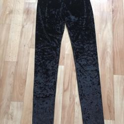 New velvet monki leggings