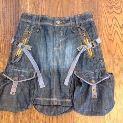 Denim skirt (new)