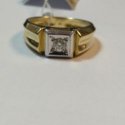 Diamond Signet 585
