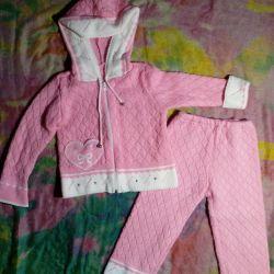 Set for girls (jacket, pants)