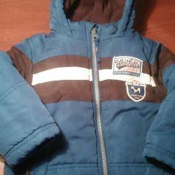 Куртка теплая до 2,5 лет