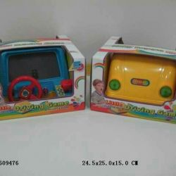 новая игрушка - автотренажер руль