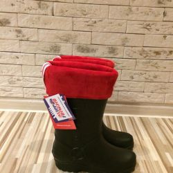 New boots from EVA