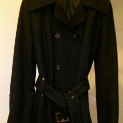 Short coat / trench coat black. Jennifer