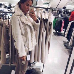 Sheepskin coat Cheburashka ZARA