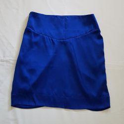 Natural silk skirt