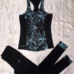 Спортивный костюм женский для занятий фитнесом
