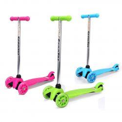 Çocuk üç tekerlekli scooter