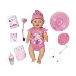 Copil nascut Baby Bourne Doll Interactive, 43 cm