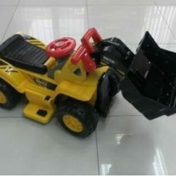 Cordless tractors