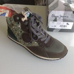Ανδρικά παπούτσια pepe τζιν (νέο πρωτότυπο)