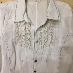 Stelmann bluza de cămașă germană la 48-50 ani