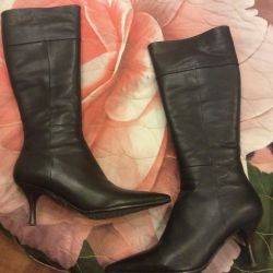 Boots new genuine leather size 38