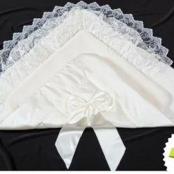 Воздушный одеяло-конверт для новорожденного