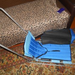 folding sled