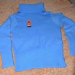 Νέο μπλε πουλόβερ