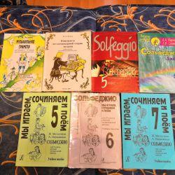 Solfeggio and Music Books
