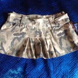 Camouflage skirt