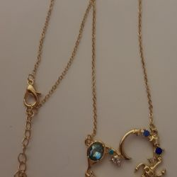 Pendants on a chain of new