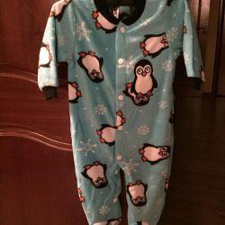 Carter's Warm Plush Bodysuit (New)