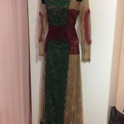 Dress elegant, guipure solution 46 Valentino