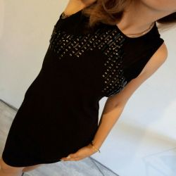 INCITY rochie de seara neagra