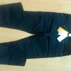 HM kot pantolon (logg), beden 40, yeni