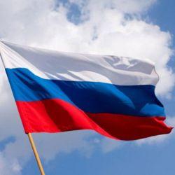 Steagul Rusiei strălucitor, 150 * 90 cm.