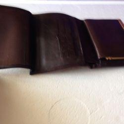 Δερμάτινο πορτοφόλι νέο